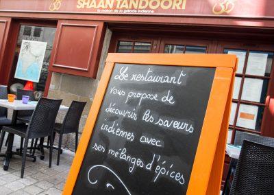 Restaurant indien le Shaan Tandoory à nantes