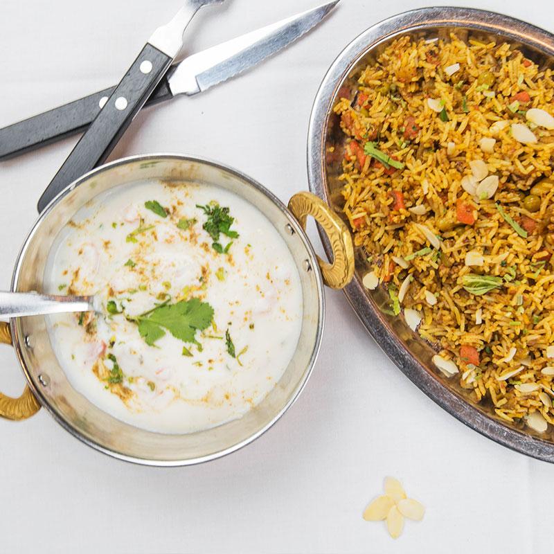 plats végétariens, Légumes Korma